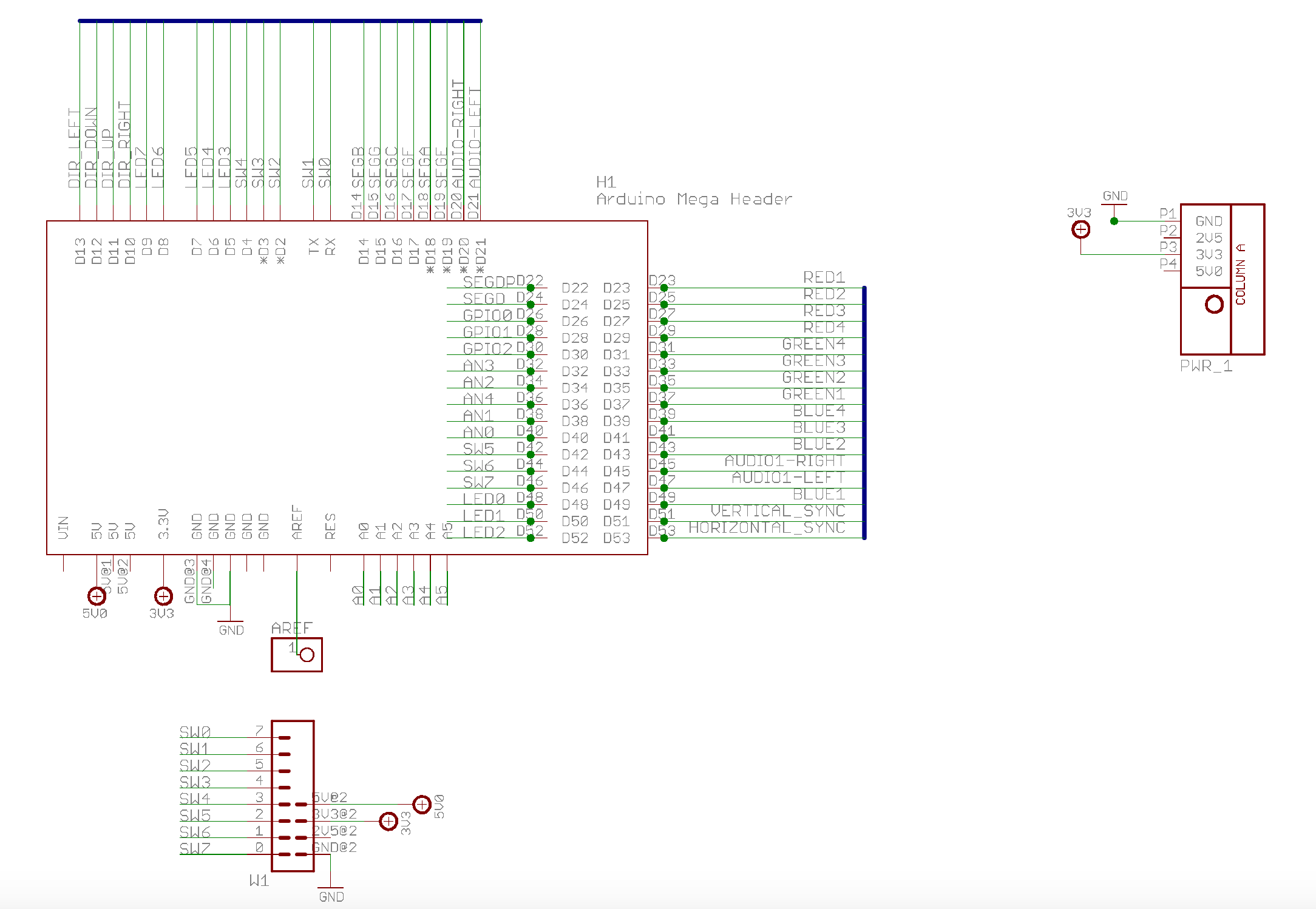 Logicstartshield 7 Segment Logic Diagram Click The Image To Load A High Resolution Of Logicstart Shield